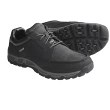 Rockport Heritage Heights Low Shoes - Moc Toe (For Men) in Black - Closeouts