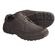Rockport Heritage Heights Low Shoes - Moc Toe (For Men) in Dark Brown - Closeouts