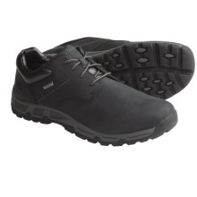 Rockport Heritage Heights Low Shoes - Waterproof, Leather, Plain Toe (For Men) in Black - Closeouts