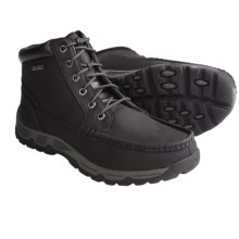 Rockport Heritage Heights Moc-Toe Boots (For Men) in Black - Closeouts