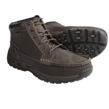 Rockport Heritage Heights Moc-Toe Boots (For Men) in Dark Brown - Closeouts