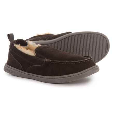 Rockport Perforated Moccasins - Suede (For Men) in Chocolate Brown - Closeouts