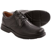 Rockport RVSD Leather Shoes (For Men) in Black Tumbled - Closeouts