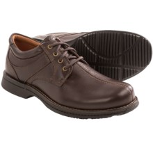 Rockport RVSD Leather Shoes (For Men) in Brown Tumbled - Closeouts