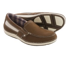 Rockport Shoal Lake Shoes - Leather, Slip-Ons (For Men) in Bison - Closeouts