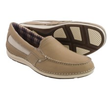 Rockport Shoal Lake Shoes - Leather, Slip-Ons (For Men) in Rock - Closeouts