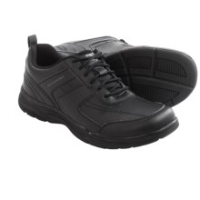 Rockport State-O-Motion U-Bal Shoes - Leather (For Men) in Black - Closeouts