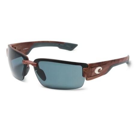 Rockport Sunglasses - Polarized 580P Mirror Lenses