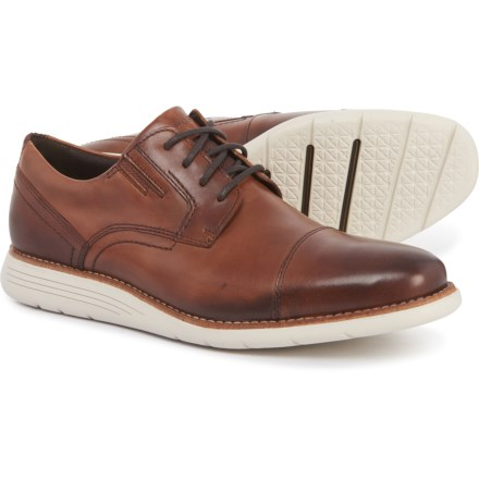 c754d4b4b Rockport Total Motion Cap-Toe Oxford Shoes - Leather (For Men) in Dark
