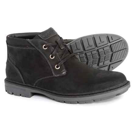 Rockport Tough Bucks Chukka Boots - Waterproof, Leather (For Men) in Black