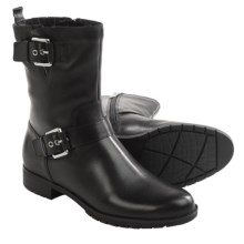 Rockport Tristina Strap Boots - Waterproof (For Women) in Black - Closeouts