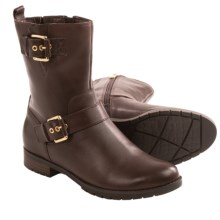 Rockport Tristina Strap Boots - Waterproof (For Women) in Brown - Closeouts