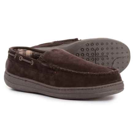 Rockport Venetian Slippers - Suede (For Men) in Brown - Closeouts