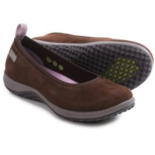 Rockport Walk360 Ballet Shoes - Leather (For Women) in Ebano Nubuck - Closeouts