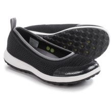 Rockport Walk360 Washable Ballet Flats (For Women) in Black Mesh - Closeouts
