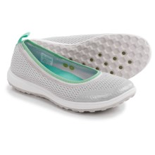 Rockport Walk360 Washable Ballet Flats (For Women) in Windchime Mesh - Closeouts