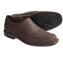 Rockport Washington Square Gore Shoes - Slip-Ons (For Men) in Dark Brown Oiled Nubuck - Closeouts