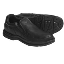 Rockport World Tour Calaska Shoes - Leather, Slip-Ons (For Men) in Black - Closeouts