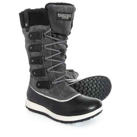 Rockport XCS Britt High Boots - Waterproof, Insulated (For Women) in Black