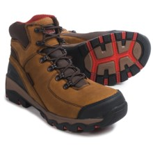 "Rocky Adaptagrip Work Boots - Waterproof, 6"" (For Men) in Brown - Closeouts"