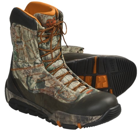 Rocky Athletic Mobility Level 3 Max Protect Gore-Tex® Hunting Boots - Waterproof, Insulated (For Men) in Mossy Oak Infinity Camo