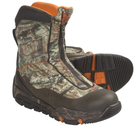 Rocky Athletic Mobility Level 3 Max Protect Gore-Tex® Zip Hunting Boots - Waterproof, Insulated (For Men) in Mossy Oak Breakup Camo