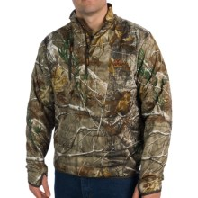 Rocky Athletic Mobility Midweight Level 2 Jacket - Zip Neck, Insulated (For Men) in Realtree Ap - Closeouts