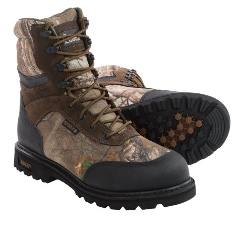 Rocky Brute Hunting Boots Waterproof, Insulated (For Men)