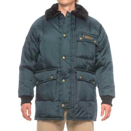 Rocky Freezer Wear Coat - Insulated (For Men) in Navy - Closeouts