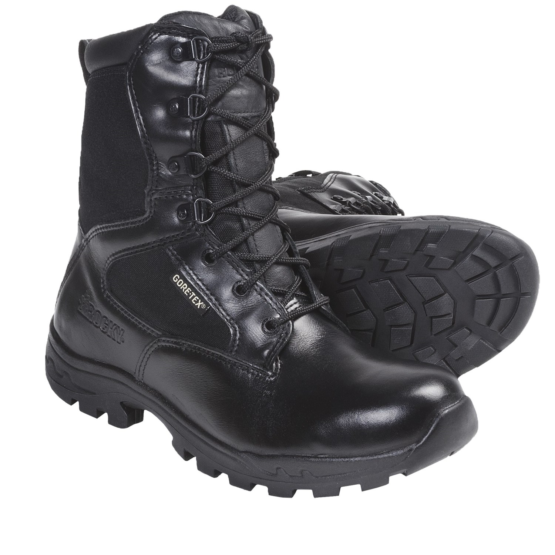 Men S Side Zipper Work Boots Ville Du Muy