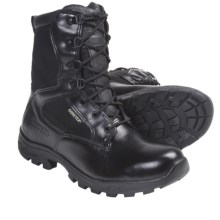 Rocky Gore-Tex® Work Boots - Waterproof, Side Zipper (For Men and Youth Boys) in Black - Closeouts