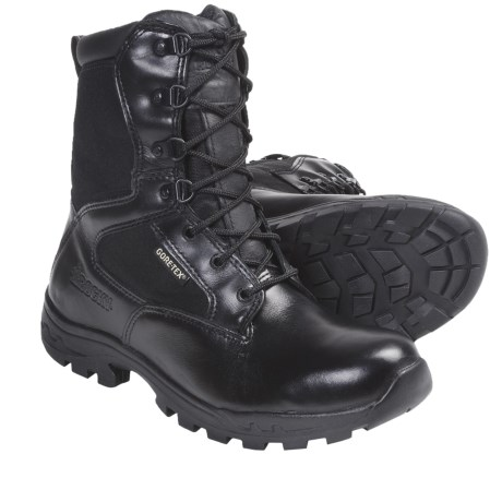 Rocky Gore-Tex® Work Boots - Waterproof, Side Zipper (For Men and Youth Boys) in Black