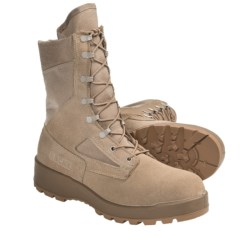 Rocky Hot Weather Military Work Boots - Steel Toe (For Men) in Tan