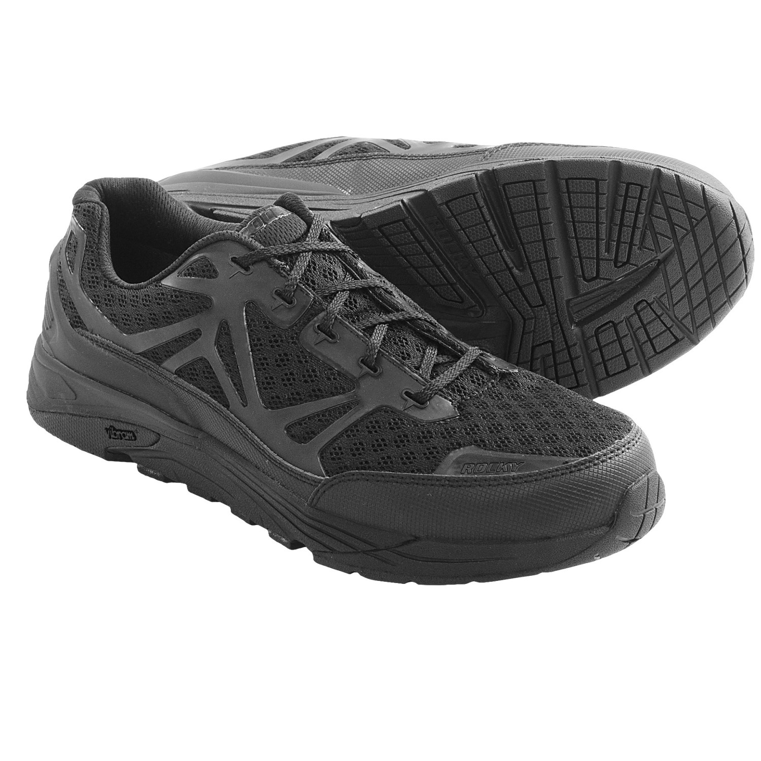 Rocky Industrial Athletix Locut Work Shoes (For Men) in Black