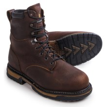 "Rocky Ironclad Work Boots - Waterproof, Insulated, Steel Toe, 9"" (For Men) in Brown - Closeouts"