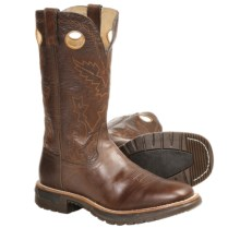 Rocky Original Ride Cowboy Boots - Leather (For Men) in Nut/Chocolate - Closeouts
