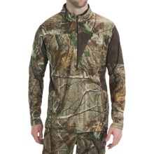 Rocky SilentHunter Shirt - Zip Neck, Long Sleeve (For Men) in Realtree All Purpose - Closeouts