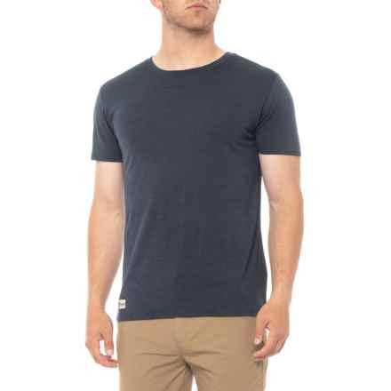 Rojk Superwear Stroller T-Shirt - Merino Wool, Short Sleeve (For Men) in Navy - Closeouts