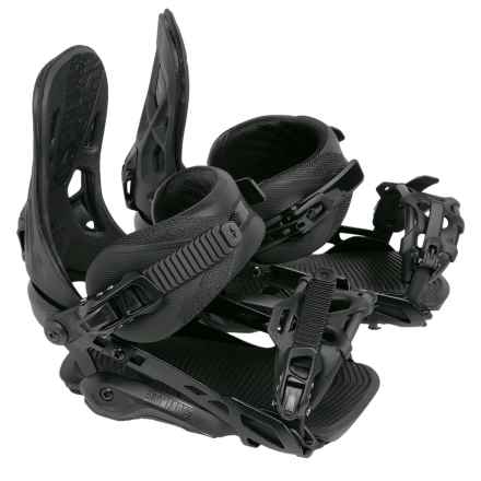 Rome 390 Boss Snowboard Bindings in Black - Closeouts