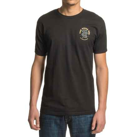 Rome Any Means T-Shirt - Short Sleeve (For Men) in Black - Closeouts