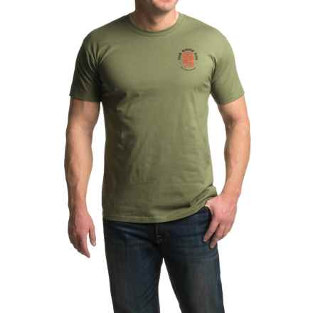 Rome Any Means T-Shirt - Short Sleeve (For Men) in Olive - Closeouts