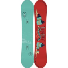 Rome Crossrocket Snowboard in 154 Locals Only - 2nds