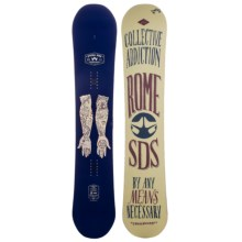 Rome Crossrocket Snowboard in 156 Graphic - 2nds