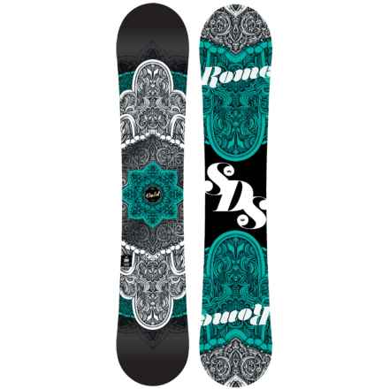 Rome Gold Snowboard (For Women) in Celtic Teal - Closeouts