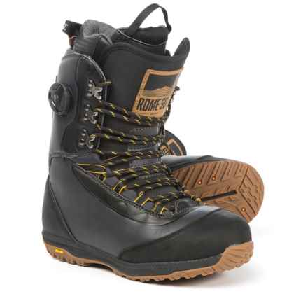 Rome Guide Snowboard Boots (For Men) in Black - Closeouts