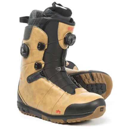 Rome Inferno BOA® Snowboard Boots (For Men) in Tan - Closeouts