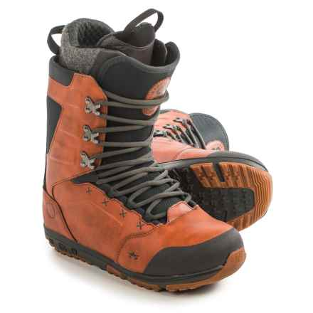 Rome Libertine Snowboard Boots (For Men) in Rust - Closeouts