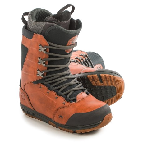 Rome Libertine Snowboard Boots (For Men) in Rust