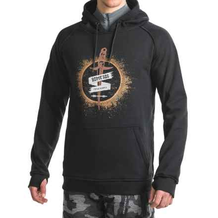 Rome Lightweight Riding Hoodie (For Men) in Black - Closeouts