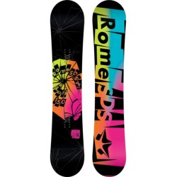 Rome Lo-Fi Rocker Snowboard (For Women) in 150 Graphic/Rainbow